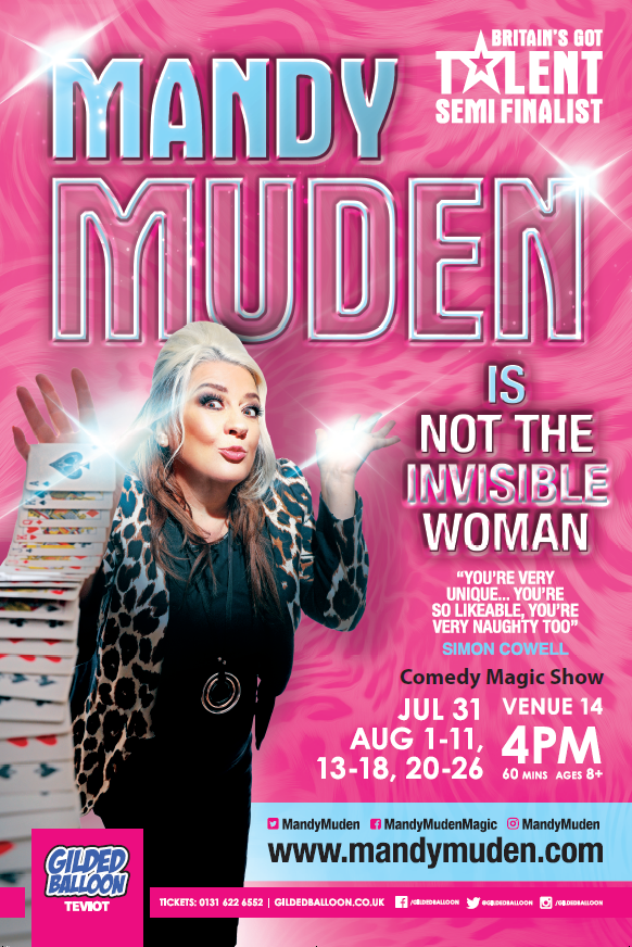 Mandy Muden is Not The Invisible Woman